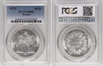 France 10 Francs Hercule - 1973  - PCGS MS 67