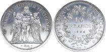 France 10 Francs Hercule - ESSAI 1964 Argent - Tirage 3.500 ex