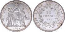 France 10 Francs Hercules -1965 Silver