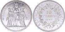 France 10 Francs Hercules -1966 Silver