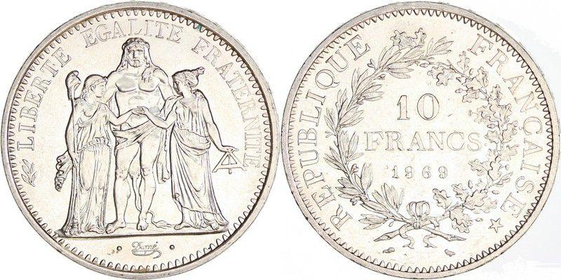France 10 Francs Hercules -1969