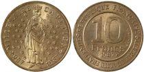 France 10 Francs Hugues Capet Roi de France (987-996) - 1987