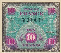 France 10 Francs Impr. américaine (drapeau) - 1944 Sans Série 68399030