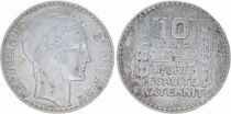 France 10 Francs Laureate head - 1929
