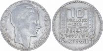 France 10 Francs Laureate head - 1930