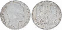 France 10 Francs Laureate head - 1931