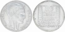 France 10 Francs Laureate head - 1932