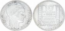 France 10 Francs Laureate head - 1938