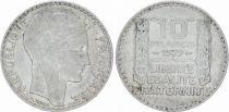France 10 Francs Laureate head - 1939