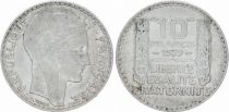 France 10 Francs Laureate head - 1939