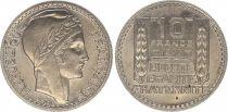 France 10 Francs Laureate head - 1946