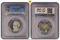 France 10 Francs Léon Gambetta - 1982 - PCGS SP 67