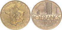 France 10 Francs Mathieu - 1980 - issu de coffret FDC