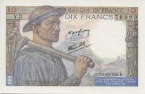 France 10 Francs Miner - 1941