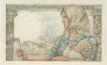 France 10 Francs Miner -1944