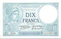 France 10 Francs Minerva - 1923 L11187
