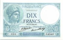 France 10 Francs Minerva - 1932