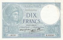 France 10 Francs Minerva - 1941