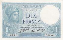 France 10 Francs Minerva - 23-07-1926 Serial R.26041 - VF