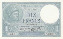 France 10 Francs Minerve - 02-02-1939 - Série P.68380