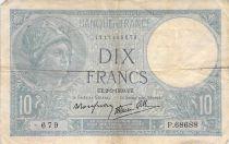 France 10 Francs Minerve - 02-02-1939 Série P.68688 - TB