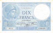 France 10 Francs Minerve - 06-04-1939 Série O.69190 - SUP