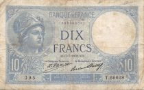 France 10 Francs Minerve - 07-07-1932 Série T.66628 - TB