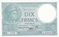 France 10 Francs Minerve - 09-01-1941 - Série L.83515