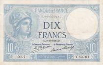 France 10 Francs Minerve - 09-10-1930 Série V.53761 - TTB