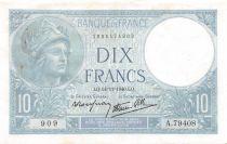 France 10 Francs Minerve - 14-11-1940 Série A.79408 - TTB+