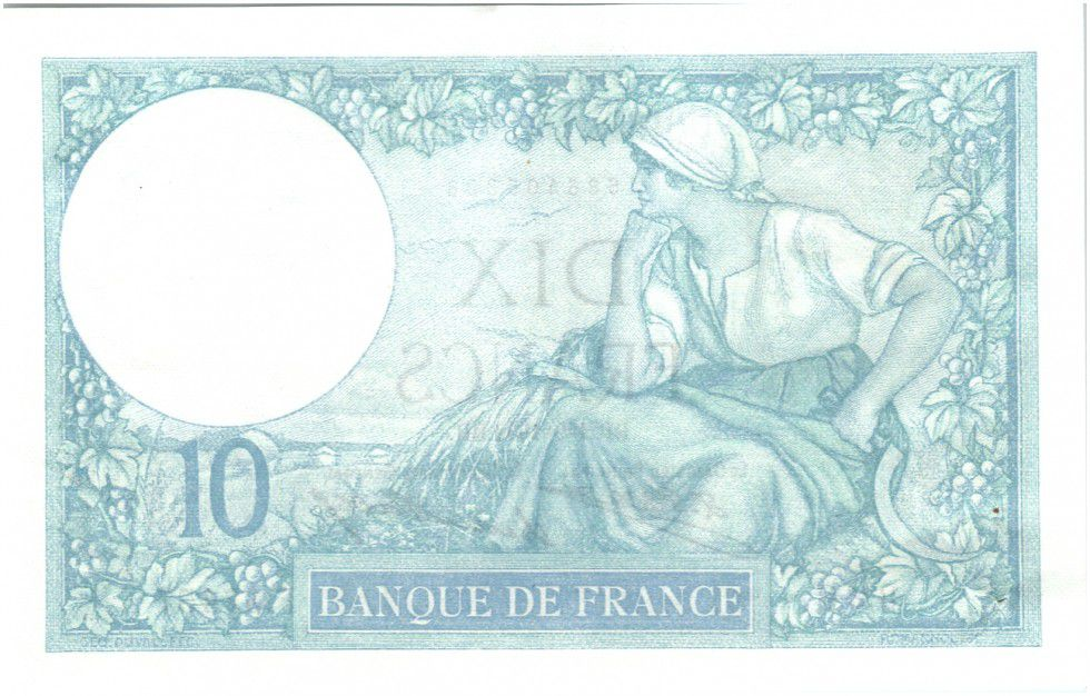 France 10 Francs Minerve - 1932