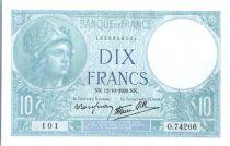 France 10 Francs Minerve - 1939 - O.74266