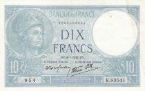 France 10 Francs Minerve - 1941