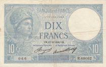 France 10 Francs Minerve 17-12-1936 - Série R.68052
