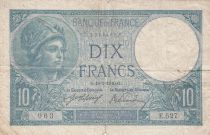 France 10 Francs Minerve 18-03-1916 - Série E.527 - TB