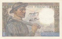 France 10 Francs Mineur - 09-01-1947- Série O.131