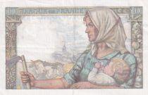 France 10 Francs Mineur - 15-10-1942 Série J.11 - SUP