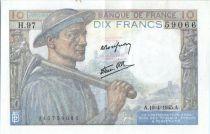France 10 Francs Mineur - 19-04-1945 Série H.97