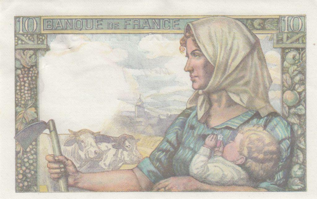 France 10 Francs Mineur - 19-11-1942 Série W.20 - SPL