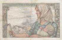 France 10 Francs Mineur - 22-06-1944 Série Y.86 - TTB