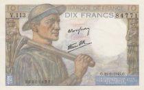 France 10 Francs Mineur - 26-09-1946 - Série V.113