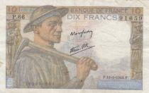 France 10 Francs Mineur - années 1941 à 1949