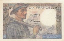 France 10 Francs Mineur 04-12-1947 - Série B.159