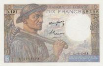 France 10 Francs Mineur 07-04-1949 - Série D.191