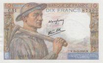 France 10 Francs Mineur 25-03-1943 - Série C.51