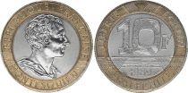France 10 Francs Montesquieu - 1989 Bi-metal