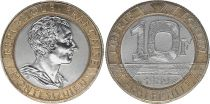 France 10 Francs Montesquieu - 1989 Bi-metal