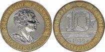 France 10 Francs Montesquieu - 1989 Essai - Bimetal