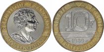 France 10 Francs Montesquieu - 1989 Essai Bi-metal