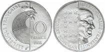 France 10 Francs Robert Schuman 1986 - FDC
